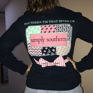 Tops - Simply Southern Long Sleeve